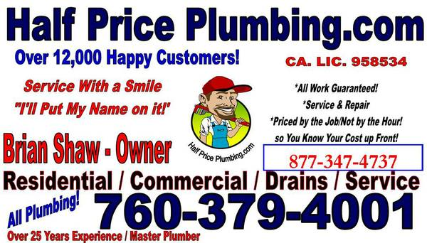 Half Price Plumbing (Kern River Valley)