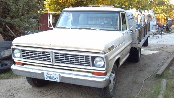 1970 ford f350 flatbed dually - $2800 (Bakersfield)