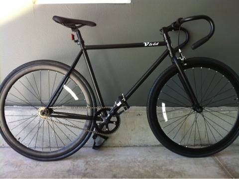 New Black Fixie- fixed gear bike clearance prices - $200 (Bakersfield)