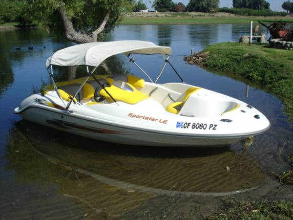 2004 SEA-DOO SPORTSTER LE DI JET BOAT - $7900 (CENTRAL VALLEY)