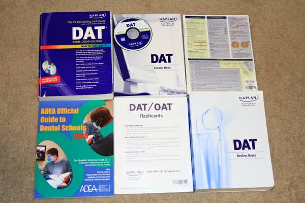 DAT KAPLAN study materials and books - $1 (Bako)