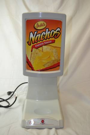 GEHLS COMMERCIAL NACHO CHEESE DISPENSER EXCELLENT - $150 (BAKERSFIELD CA)
