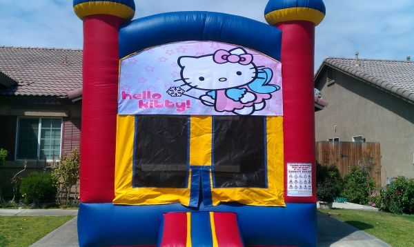 JUMPER $50, BOUNCE HOUSE, TABLES, CHAIRS, COTTON CANDY, POPCORN (BAKERSFIELD)
