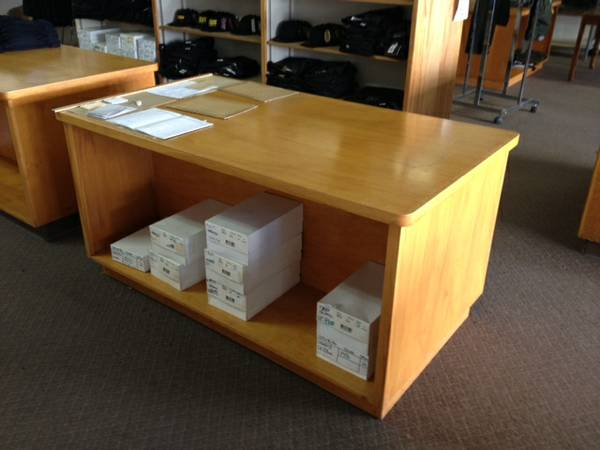 Retail OAK SHELVING Units, beautiful solid - $75 (east baketrsfield)