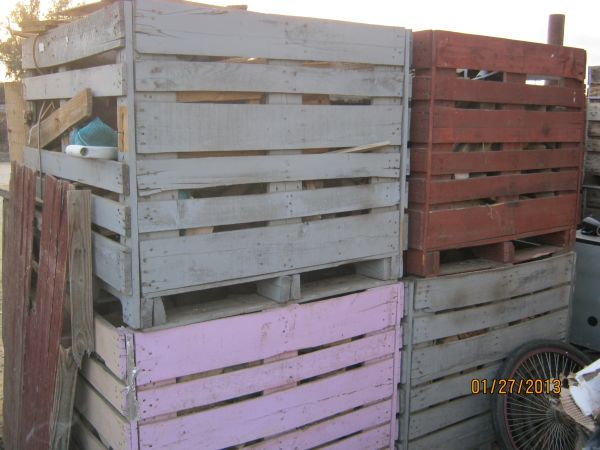 6 crates of firewood ...48x40x3 - $30 (bakersfield 08)