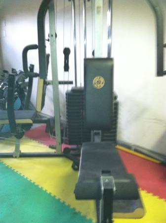 Golds Gym XR 66 2 person Gym-Great Condition - $100 (NorthWest Bakersfield)