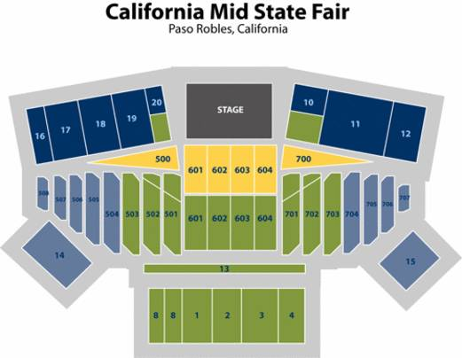 2 VAN HALEN tickets - $170 (Paso Robles Mid-State Fair)
