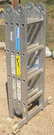 KRAUSE MULTIMATIC 16 ALUMINUM LADDER - $70 (WALKER BASIN)