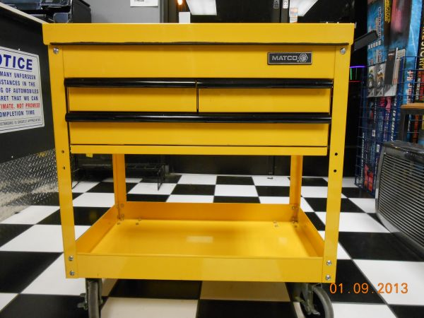 MATCO TOOL CART - GREAT CONDITION - $340 (BAKERSFIELD (ROSEDALE HWY FWY))