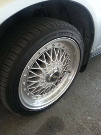 BBS RS Reps Enkie Rims w Falken Tires 16 Trade or Sell - $550 (Bakersfield)