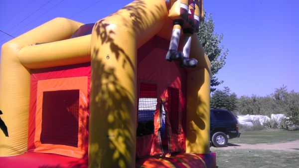 bounce house repair rent. (shafter)