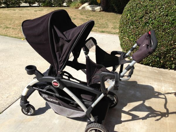 Joovy Ergo Caboose sit n stand double Stroller - $175 (SW Bakersfield)