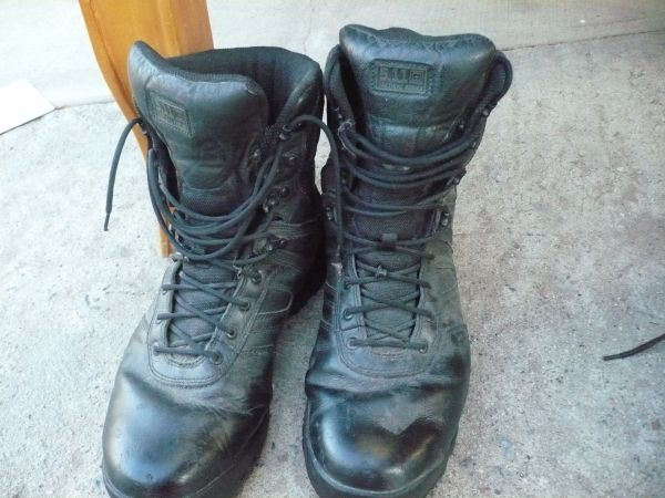 5.11 Magnum Spider Steel Toe Boots(Reduced) - $15 (SW)