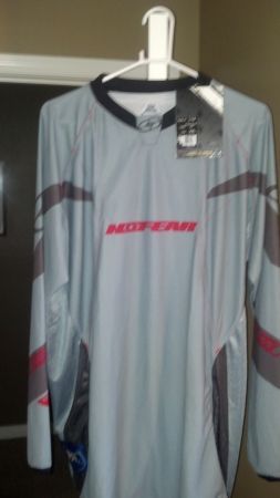 NO FEAR MX MOTOCROSS XXL JERSEY NEW WITH TAGS - $20 (BAKERSFIELD)