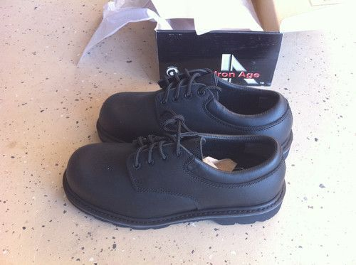 Work Shoe Steel Toe Protection Iron Age Brand Size 8.5 Men - $25 (sw)