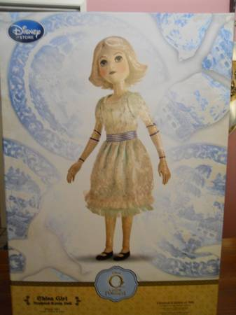 RAREOZ THE GREAT AND POWERFUL LIMITED EDITION CHINA GIRL DOLL - $500 (BAKERSFIELD)