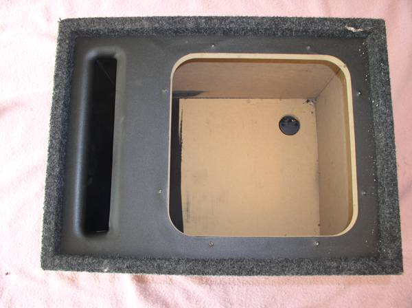 Vented Ported Sub Box Bass Slammer 12 SUB for L5 or L7 Subwoofer - $45 (Visalia)