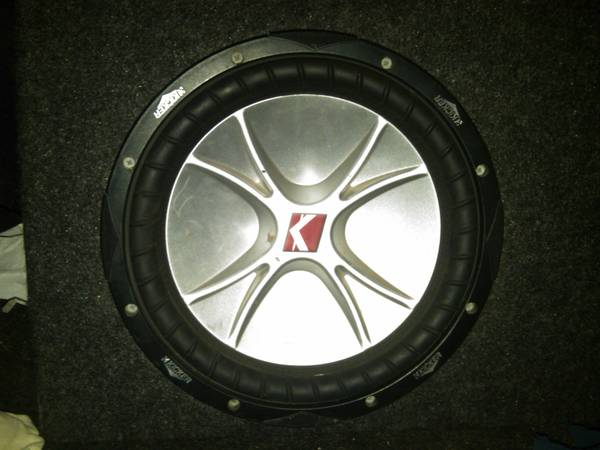 10 Kicker CVR with box and INTERFIRE AMP. - $170 (porterville )