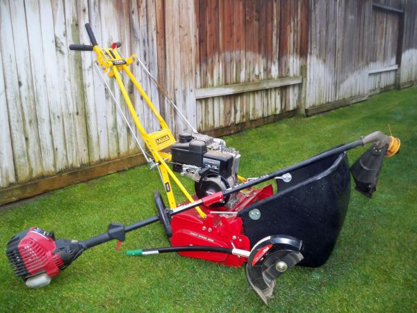 Mclane Reel Mower, String Trimmer, and Stick Edgers - $400 (Bakersfield, CA)