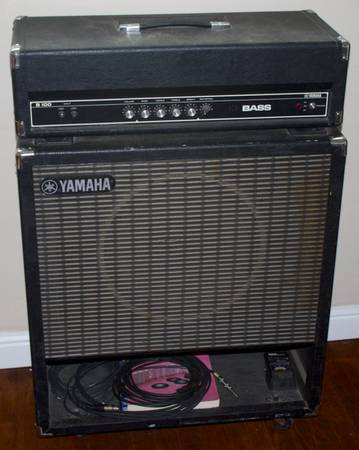 Yamaha B100 Bass Amp and Cab - $250 (Bakersfield, Ca.)