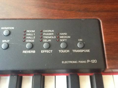 Yamaha P120 Electric piano with Ultimate pro stand - $600 (TEHACHAPI)