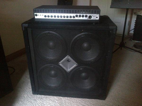 P.A. Bass Amp, Guitar Amp - $1 (By B.C.)