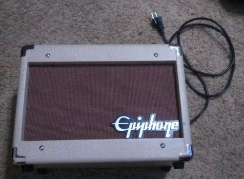 EPIPHONE ACOUSTIC GUITAR AMP 15C WITH CHORUS - $60 (NW 93312)