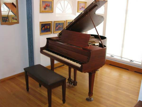 Henry F. Miller Baby Grand Piano - $3600 (Kern County)