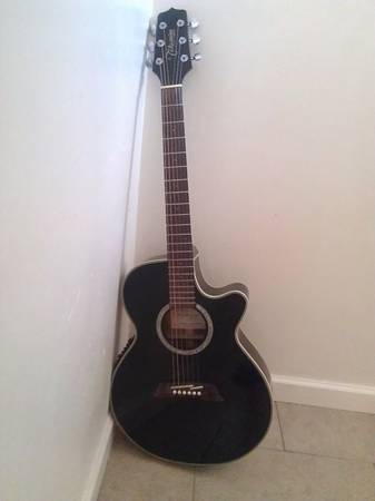 AcousticElectric Guitar- Takamine Model EG561C - $150 (Bakersfield)