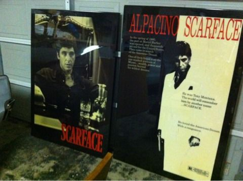 Scarface Movie Posters - $400 (Bakersfield)