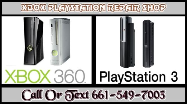 PS3 Xbox 360 Repair (Bakersfield)