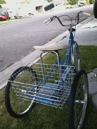 Fun in the sun Look and See 3 Wheel Bike - $200 (Na)