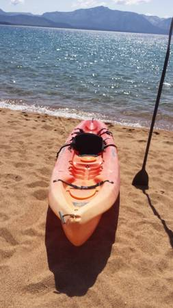 Ocean Kayak Scrambler XT wseat paddle - $310 (South Lake Tahoe)