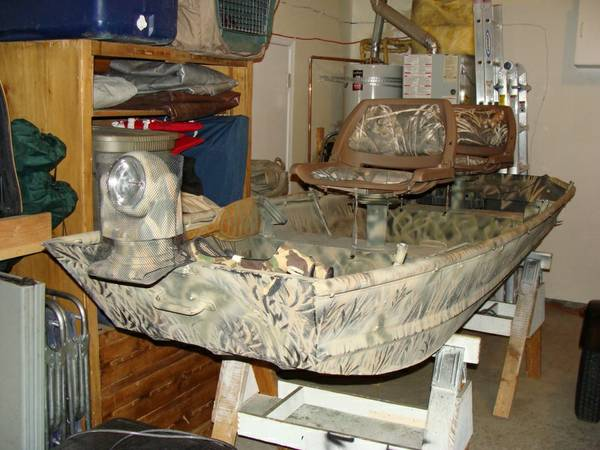 Duck Boat-reduced price - $1200 (Reno)