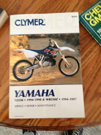 Clymer - Yamaha 1994-1998 Motorcycle Repair Manual - $20 (Boise, Idaho)