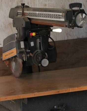 Sears Craftsman 10-inch Radial Saw Rolling Stand - $75 (New Plymouth)