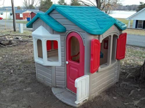 Step 2 Welcome Home Playhouse Step 2 Swing Set With Climber - $400 (Na, ID)