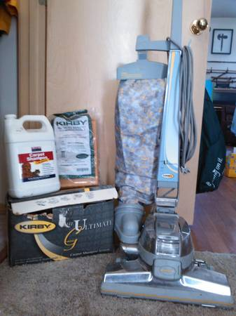 Kirby Ultimate G vacuum w all attachmentsshooerbags and shoo - $299 (Boise)