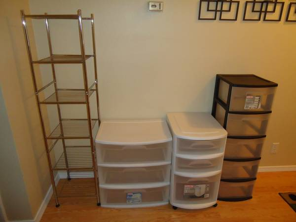 Plastic Drawer Storage Containers - $20 (Boise)