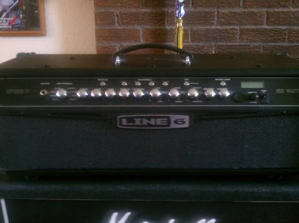 Line 6 Spider IV 150 watt head and foot switch - $300 (Boise)