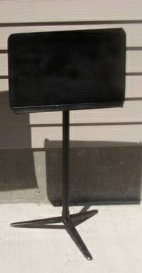 Music Stands by Wenger (nice and sturdy - concert style) - $15 (Provo)