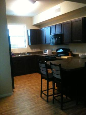 - $602 Private bedbath at Hilltop Townhomes for Summer 2012 (1500 S. San Francisco Street)