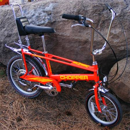 RALEIGH CHOPPER 3-Speed Like New All in Original Condition - $250 (flagstaff)