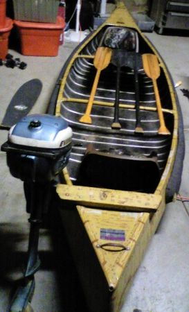 Sportspal 14 Canoe With 3hp Evinrude Outboard Motor Reduced - $499 (Prescott AZ)