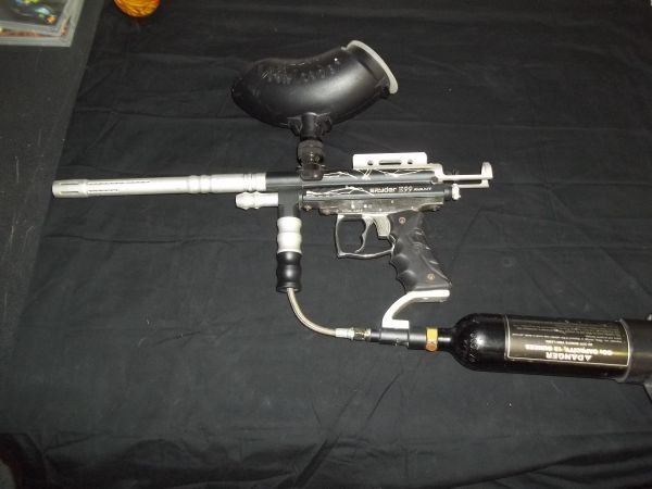 SPYDER E99 AVANT PAINTBALL MARKER W SHOULDER BUTT STOCK - $100 (873 HOWARDS RD SUITE 19)