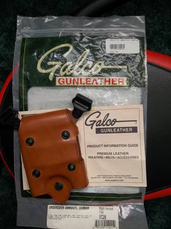 New Galco Undercover for shoulder holster rigs. Light, Mag, Handcuffs