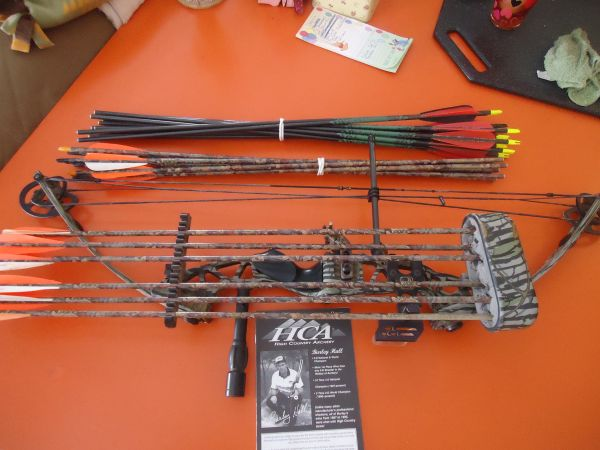 Sky Force Compound Bow by High Country Archery PRICE REDUCED - $300 (Mormon Lake)