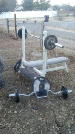 Olympic Weight Bench WExtra - $450 (Delivered)