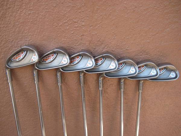 PING G10 IRONS, WEDGES, GOLF BAGS FOR SALE - $230 (Flagstaff, Arizona)