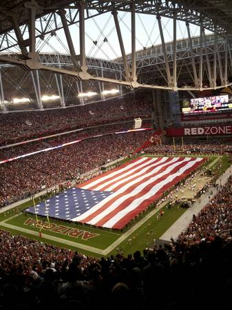Arizona Cardinals vs Dallas Cowboys - 2 tix green parking pass $120 - $60 (central south Phoenix)
